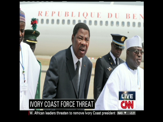West African leaders threaten use of force against Gbagbo ...