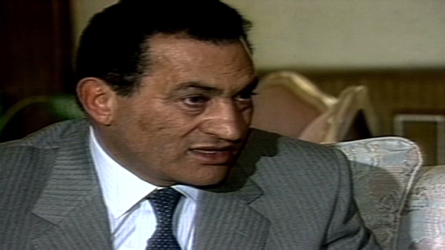 Egypt's Mubarak opens door to talks with rival political parties