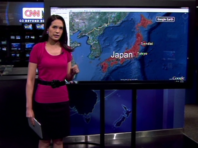 world map of japan and hawaii. Japan hit by 8.9 magnitude