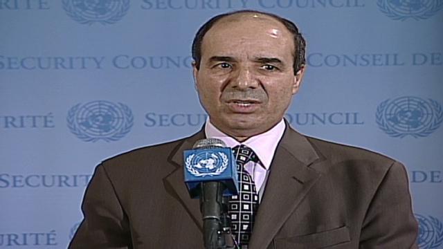 Opposition: Violence rages despite Libyan claim of cease-fire Bts.un.libyan.amb.dabbashi.cnn.640x360