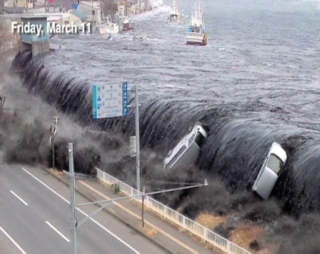 Natural Disaster Tsunami In Hindi