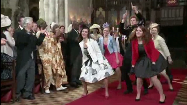 Royal Wedding Dance Video Goes Viral