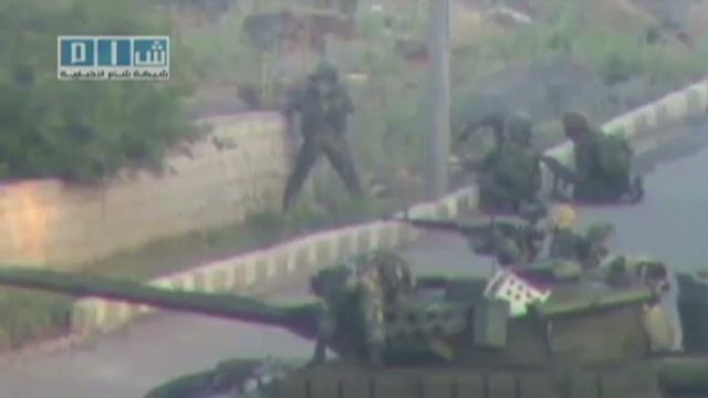 Pánico en Siria por la ofensiva del ejército en Daraa