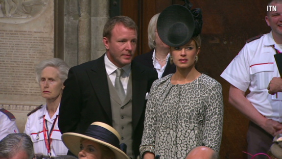 Hats galore! Royal wedding guests take headpieces to new level - CNN.com 36869b12ea8f