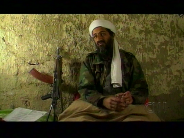 Osama in Laden The face of. Obama: Osama bin Laden killed