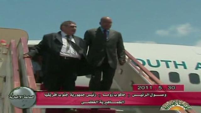 Ocho generales libios desertan a Italia
