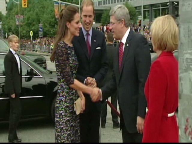 Los duques de Cambridge celebran el Día de Canadá