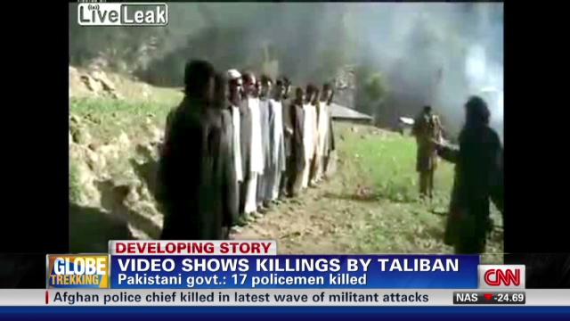 Taliban video shows execution of Pakistani men - CNN com