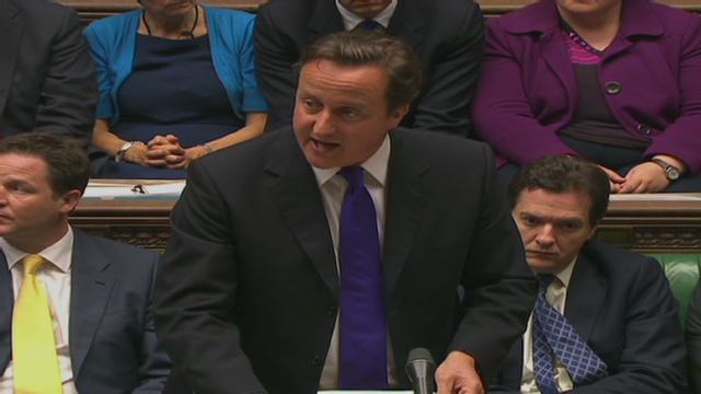 David Cameron comparece ante el parlamento por el escándalo de escuchas