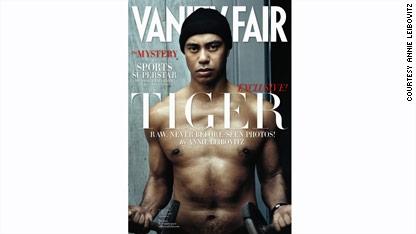 Tiger woods shirtless