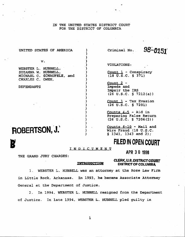 Documents: Judge Robertson's Ruling To Drop Charges Against