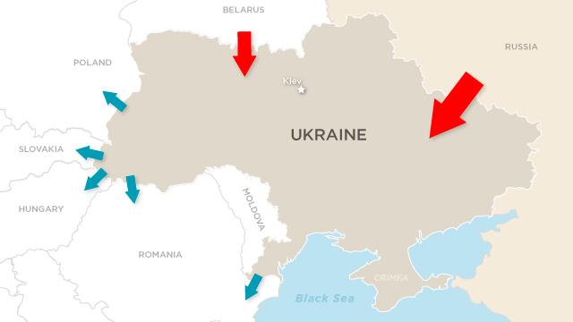 A Divided Ukraine Cnn Com