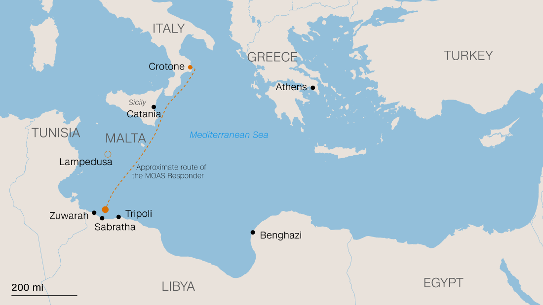 These Crossings Are Nothing But Fatal The Tale Of One Rescuer - Where is libya
