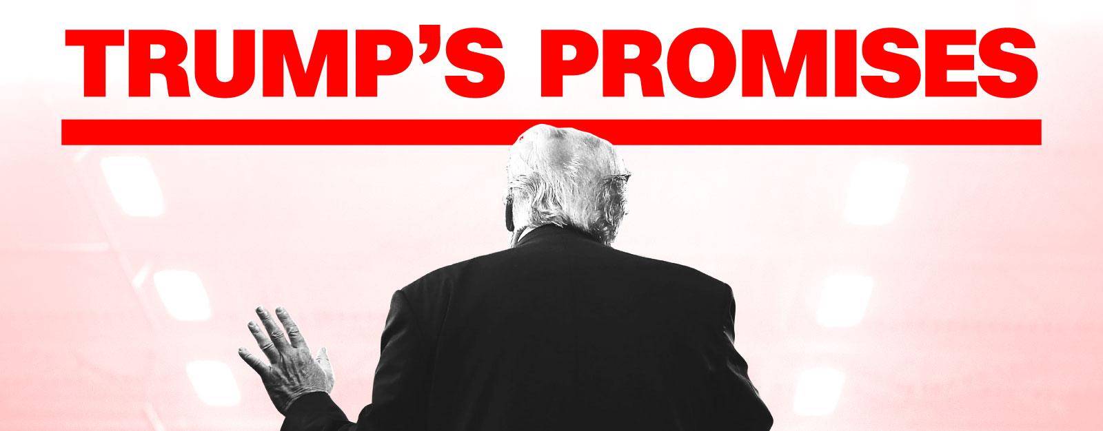 Tracking Trump's promises