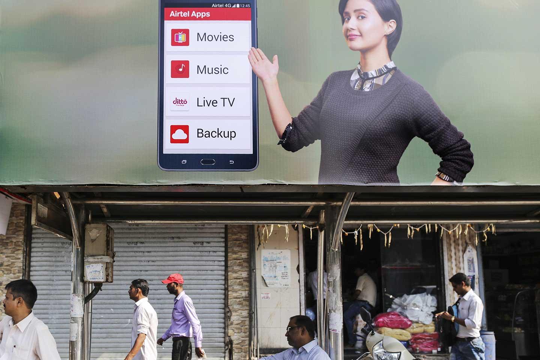 Dating-App in Indien