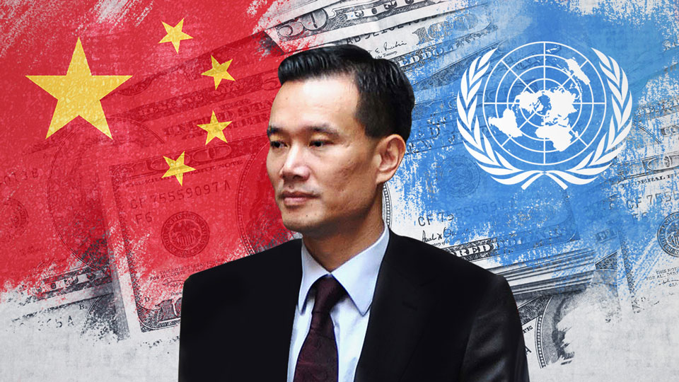 How a UN NGO and an oil giant pushed China's message around the world