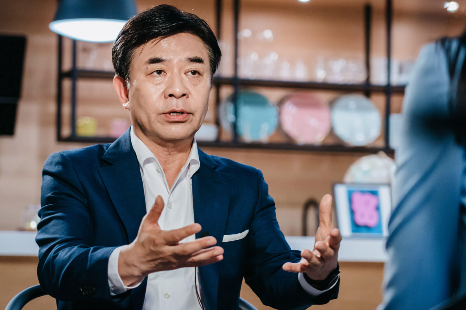 Hyun-Suk Kim is the President and CEO of the Consumer Electronics Division at Samsung Electronics.