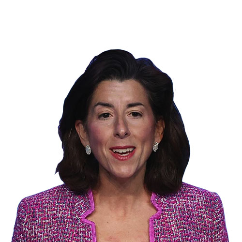 A photo of Gina Raimondo from the shoulders up.