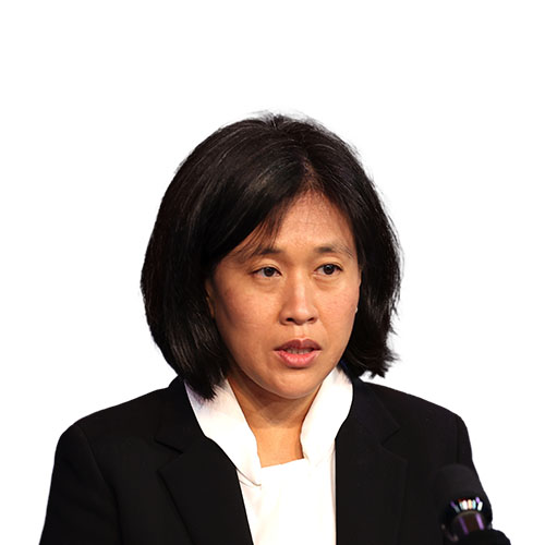 A photo of Katherine Tai from shoulders up.