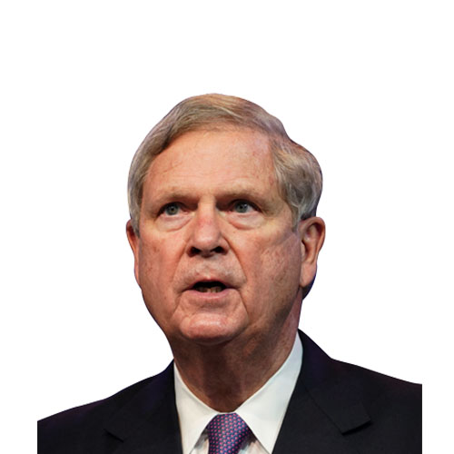 A photo of Tom Vilsack from the shoulders up.