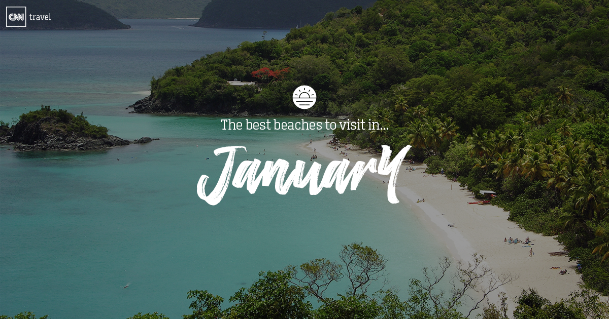 Beaches to visit in january cnn travel for Where to vacation in january